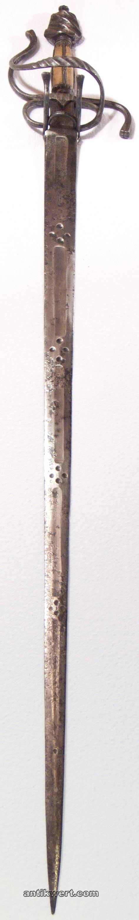 Degen-norddeutsch-665 mit interessanter Klinge