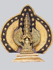 Avalokiteshvara-Sahasrabuja-vergoldet-224 Vorschau-Bild
