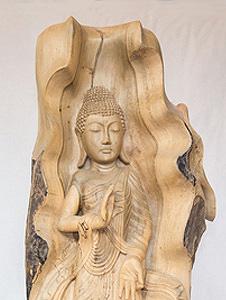 Buddha-Gautama-Holz-267 Vorschau-Bild