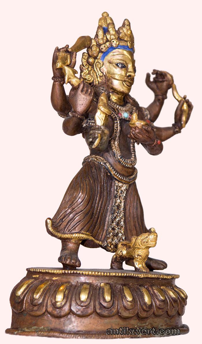 Bhairava-201 sechsarmig