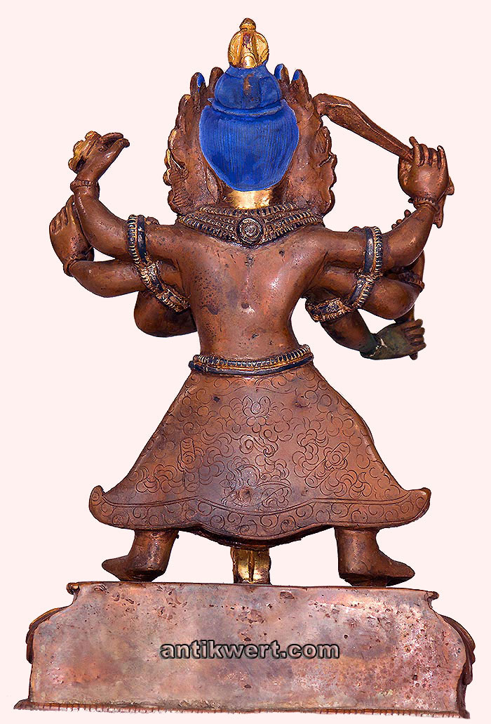 Bhairava-201 Rueckansicht
