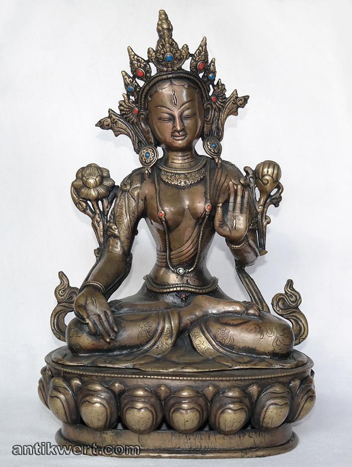Tara-weiß-163 in Padmasana