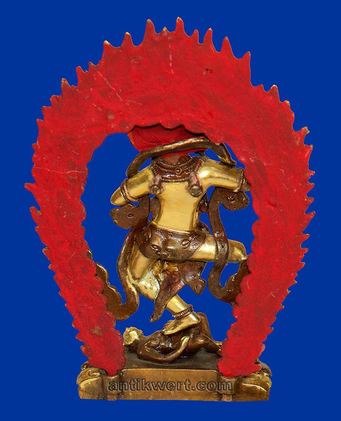Vajravarahi-206 Ansicht von hinten