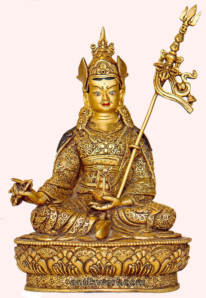 Padmasambhava-ziseliert-214 rundum komplett ziseliert