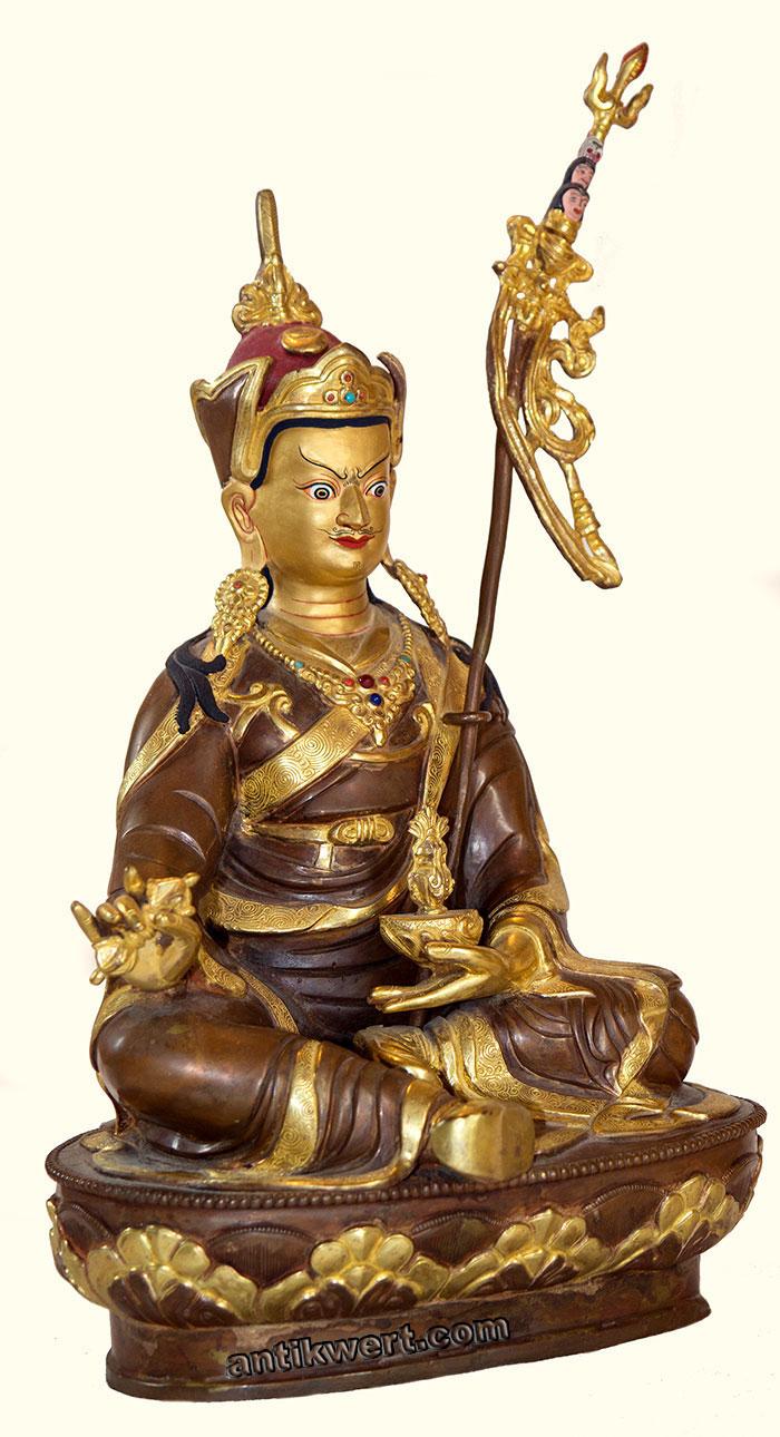 Padmasambhava-vergoldet-215 von der anderen Seite