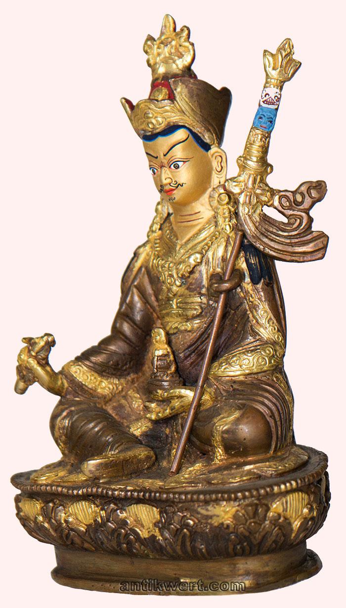 Padmasambhava-230 mit magischem Stab