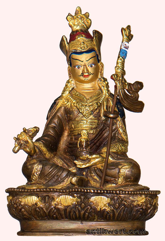 Padmasambhava-230 vergoldet