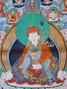 Padmasambhava-Thangka-301 Vorschau-Bild