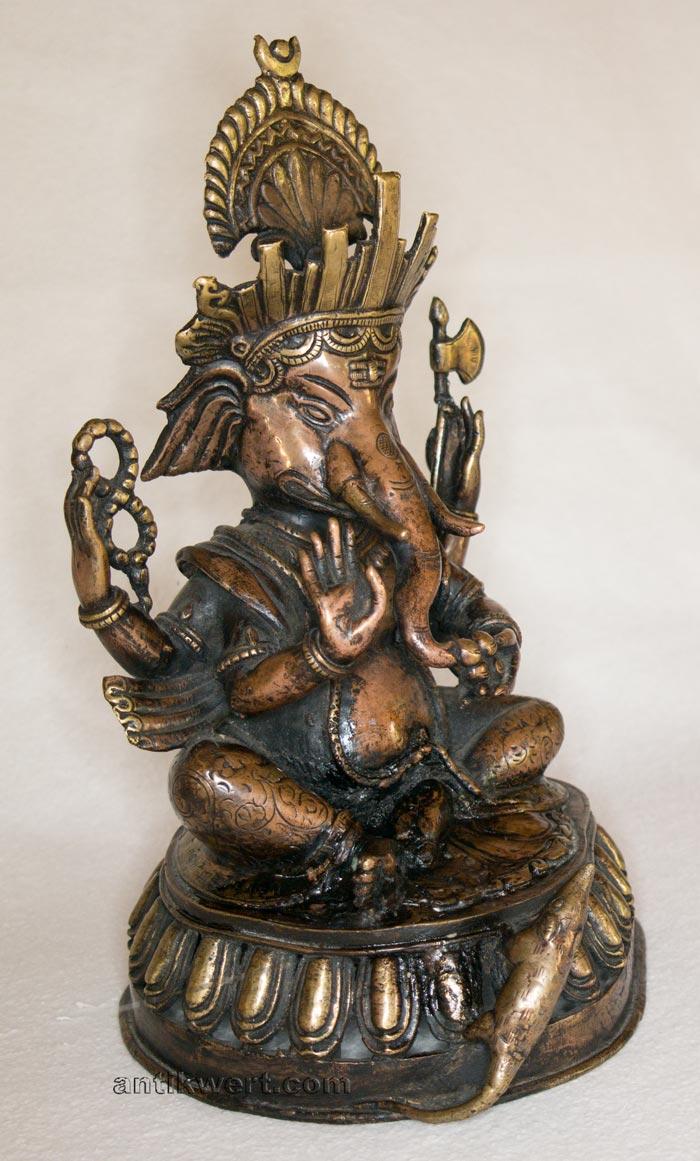 details der rechten seite von Ganesha-153