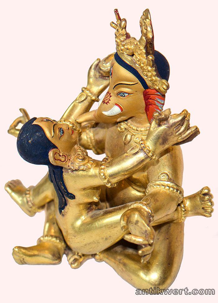 seiliche ansicht von Ganesha-Shakti-228